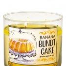 Bath & Body Works Banana Bundt Cake Scented Candle