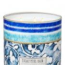 Bath & Body Works White Barn Eucalyptus Rain Scented Candle