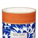 Bath & Body Works White Barn Mineral Springs Scented Candle
