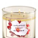 Bath & Body Works White Barn Japanese Cherry Blossom Scented Candle