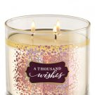 Bath & Body Works White Barn A Thousand Wishes Scented Candle
