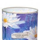 Bath & Body Works Lavender Woods Scented Candle