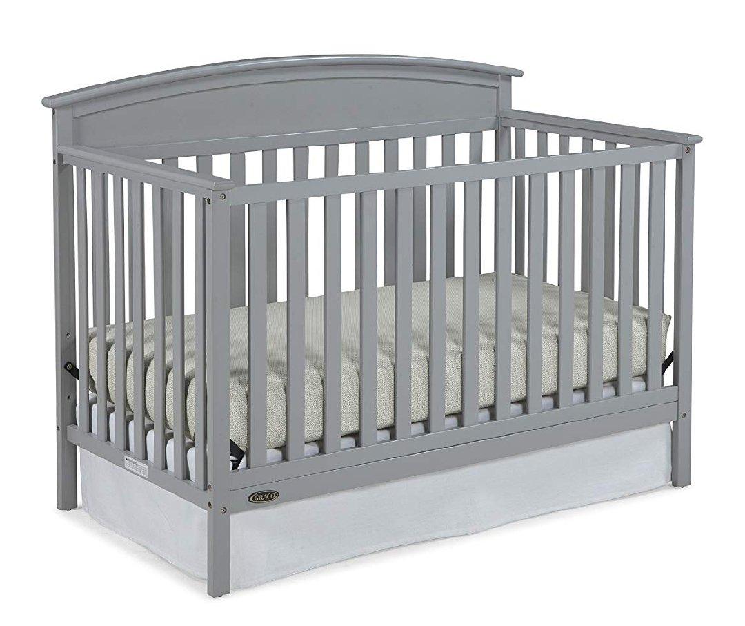 Graco Benton 5-in-1 Convertible Crib Pebble Gray