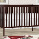 Dream On Me Synergy 5-in-1 Convertible, Crib, Espresso