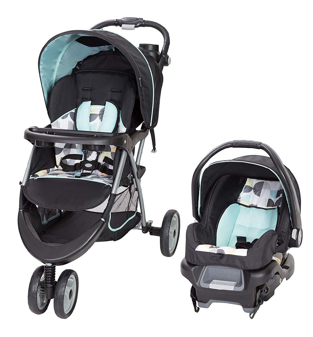 Baby Trend Ez Ride 35 Travel System Doodle Dots