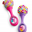 Rattle 'n Rock Maracas, Pink/Purple