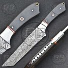 """11.5"""" Out Class Damascus Steel Full Tang Tanto knife-BB-1006"""