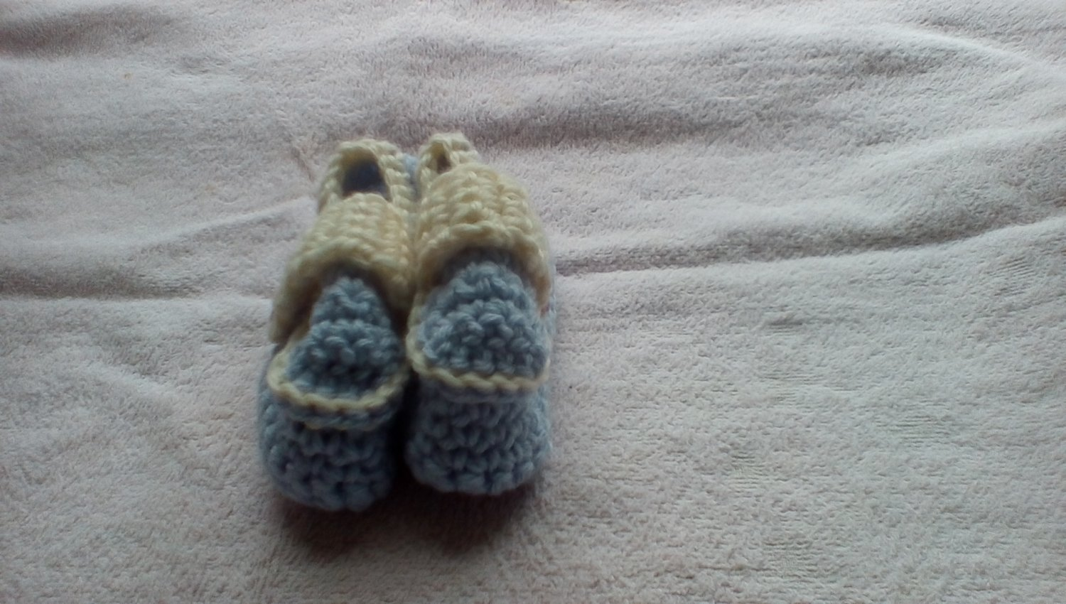Lavender newborn side buttoned loafers