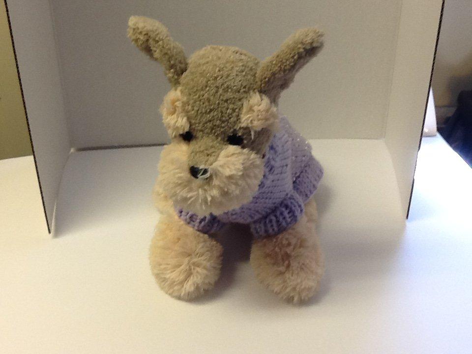 Petite lavender princes dog sweater
