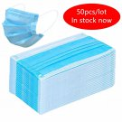 50PC Face Mouth Masks Non Woven Anti PM2.5 Anti Influenza Breathing Safety Masks Face Care Masks