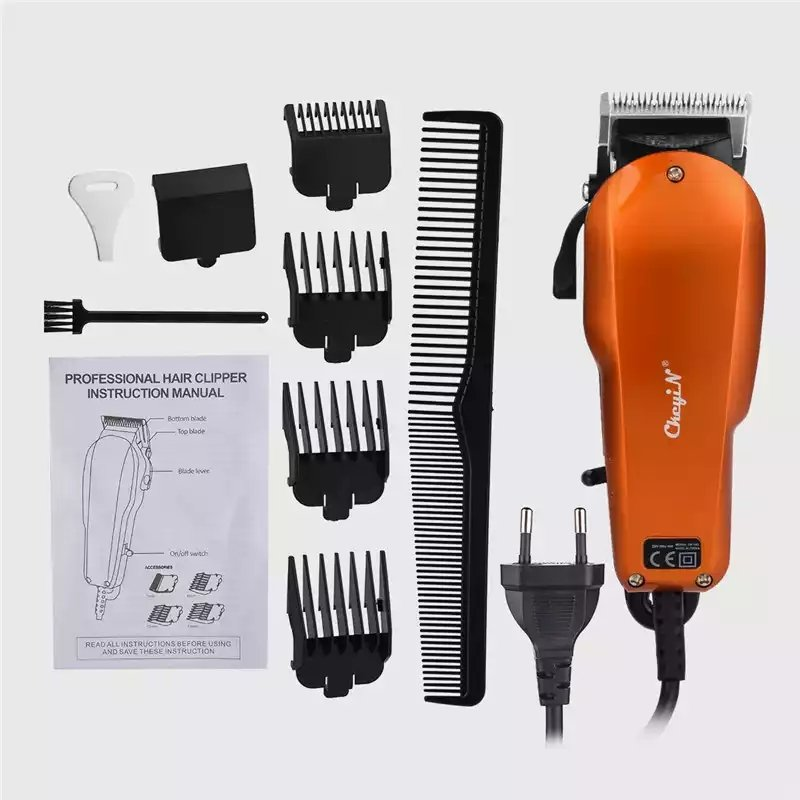 Powerful  Professional Hair Trimmer Hair Barber Cutting Machine For Adult Baby