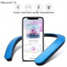Bluetooth Speaker Portable Wireless Neckband Neck Speakers Supprt FM AUX SD USB Stereo