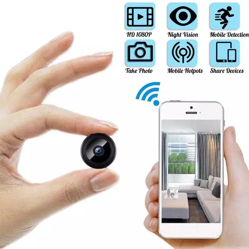 Camera Wireless 1080P HD Mini add 32 G card WIFI Camera Camcorder Wireless Home Security DVR Night