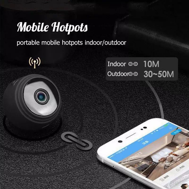 camera Wireless 1080P HD Mini add 64 G card WIFI Camera Camcorder Wireless Home Security DVR Night