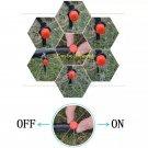 100pcs/set Sprinkler Garden Irrigation Micro Flow Water Dropper Head Dripper Drip Head Irrigation