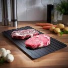 Defrosting Tray Thaw Rapid Heating Tray Fast for Freezing Meat FoodNo Electricity  Non-stick