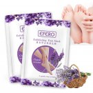 6pc=3pair Exfoliating Foot Mask Pedicure Socks Exfoliation for Feet Mask Remove Dead Skin Heels