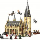 983Pcs Harries Voldemort Potters Hogwartse Castle Great Hall Magic School Compatible Lepining