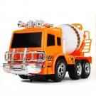 Kids Toy Simulation Engineering Mixer Truck Model Sound Lighting Battery Powered Omni-dire