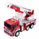 DIBANG 1:16 Toy Fire Fighting Truck Educational Toy Maintenance Truck