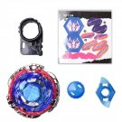 Kids Alloy 4D Fusion Top Rapid Fighting Rare Beyblade Launcher Top Grip Sets