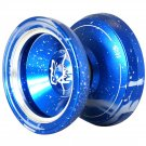 Magic yoyo M002 April Profession YOYO Ball Blue and Sliver