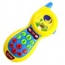 Baby Early Learning Toy Fun Phone Toy Music Lighting Sound Yellow Yellow
