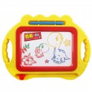 CW Children Toy Magnetic Writing Painting Drawing Board Yellow Yellow