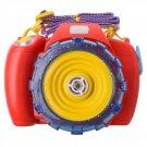 CW Children Bubble Blower Bubble Gun Bubble Camera Red Red