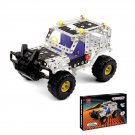 262pcs Cross-country Vehicle Metal Toy Enlighten Assembly Metal Building Kit