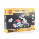 City Build Metal Toy Metal DIY Model Vehicle Improve Move Artifice for Age 8+