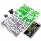 LYGF 2113 Solar Toy 7-IN-1 Toys DIY Tool  Green Green