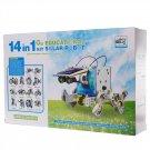 LYGF 2115 Solar Toy 14-IN-1 Toys DIY Tool  Colourful Colourful