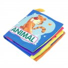 Portable Early Educational Cloth Book Colorful Soft Toys Pecfect For Babies