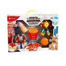 Plastic Transformers Children Model Food Robot Ice Cream Puzzle Toys Gift