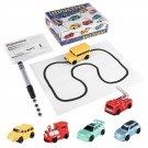 Enlighten Magic Pen Inductive Car Children's Train Tank Toy Car Draw Lines