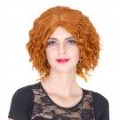 Man Mei COS Wig Halloween Theme Wig A786 SW1837 2735 Short Curly Hair Orange Orange