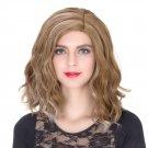 Man Mei COS Wig Halloween Theme Wig A848 SW1906 Short Curly Hair Brown Highlights Brown Hi