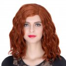 Man Mei COS Wig Halloween Theme Wig A728 SW1903 Short Curly Hair Orange Orange