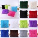 Solid Soft Plush Faux Fur Wholesale Decorative Cushion Cover Throw Pillows