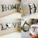 """""""HOME"""" """"LOVE""""    Mirror Effect Wall Decor Wall Art Home Living Room Decorations"""