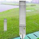 Rain GaugeHome Garden 5 inch 120ml Capacity Plastic Clear Rain Gauge Replacement Tube for Outdoor