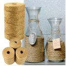 100M Natural Sisal 2mm Rustic Tags Wrap Wedding Decoration DIY Crafts Twisted Rope