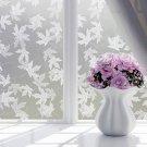 Film Window Decorative Film Frosted Glass  Door Bathroom Window Translucent Opaque Style 4