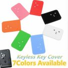 3 Buttons Silicone Remote Key Fob Cover Case For Renault Clio Megane Scenic
