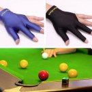 Snooker Billiard Cue Glove Pool Left Hand Open Three Finger