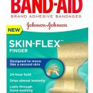 Band-Aid Skin-Flex Adhesive Bandages, Finger 10 ea (Pack of 3)
