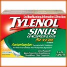 Tylenol Sinus Congestion & Pain Severe Caplets,  Daytime non Drowsy3 pk./24 = 72