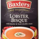 Baxter's Luxury Lobster & Seafood Bisque Soup 6 cans Scottish Made From Canada