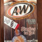 8 Boxes PLUS   Of A & W Root Beer Singles to go